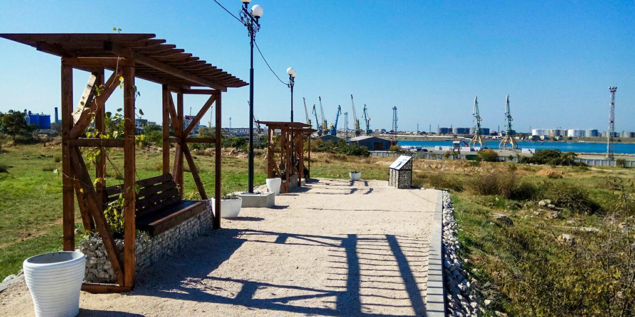 В Севастополе открыли территорию усадьбы надела №9 хоры Херсонеса