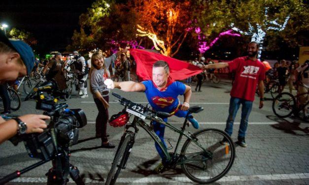 Как прошел в Севастополе всеобщий велопробег «ВелоНочь»