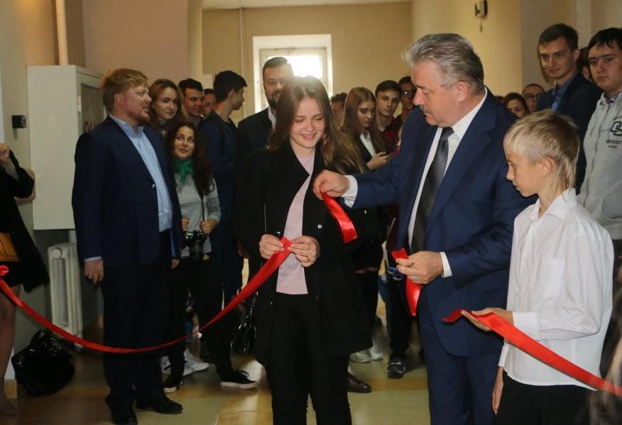 В Севастополе открылся Центр молодежного инновационного творчества