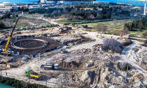 Общественность будет контролировать ход реконструкции Парка Победы