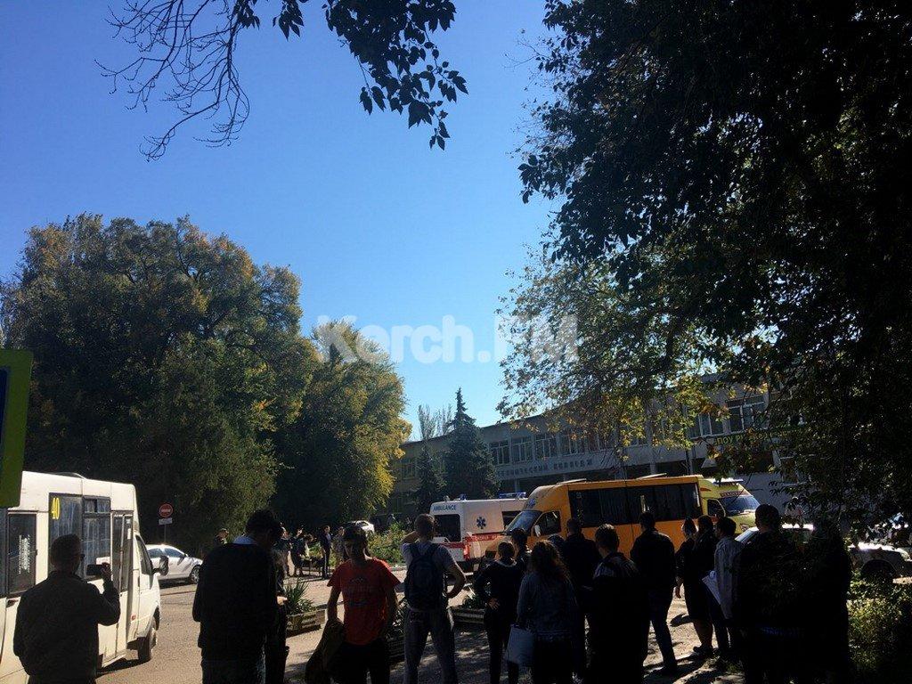 Массовое убийство в Керчи. Погибло 20 человек, более 50 ранено