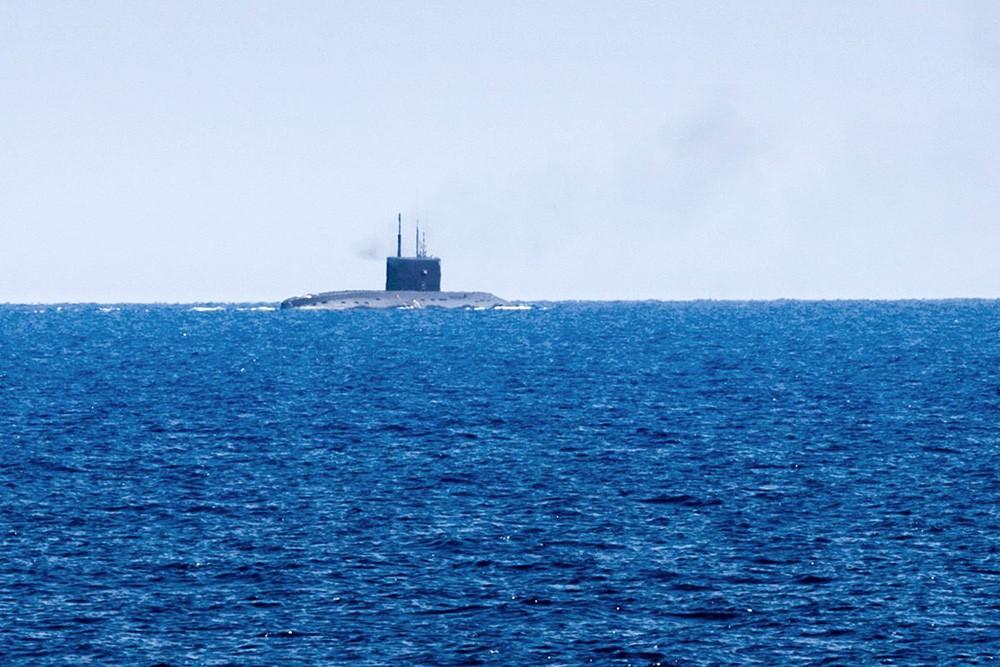 Подлодки «Новороссийск» и «Краснодар» отрабатывали в море различные задачи плана боевой подготовки экипажей