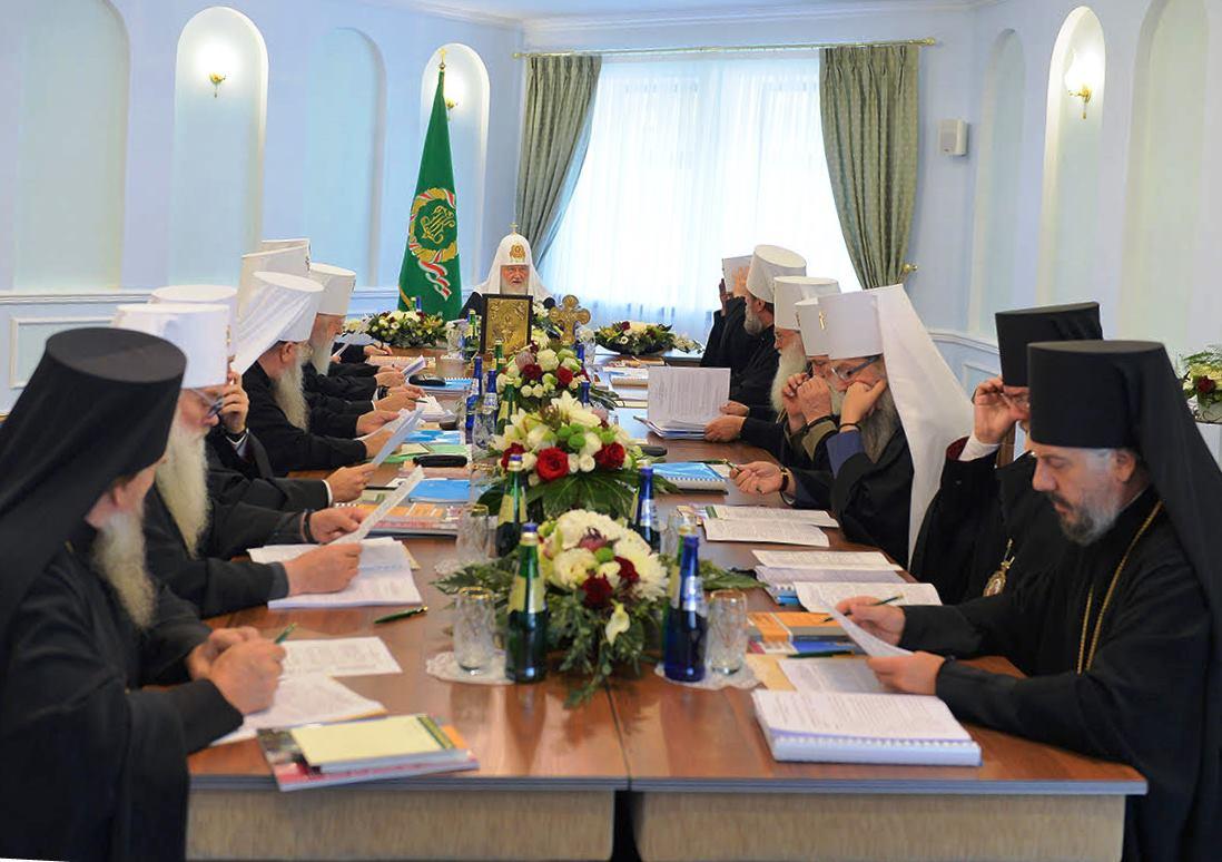 Русская православная церковь разорвала отношения с Константинополем