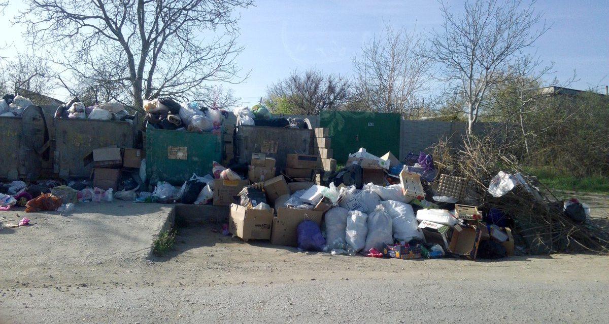 В Севастополе массовые проблемы с уборкой и вывозом мусора?