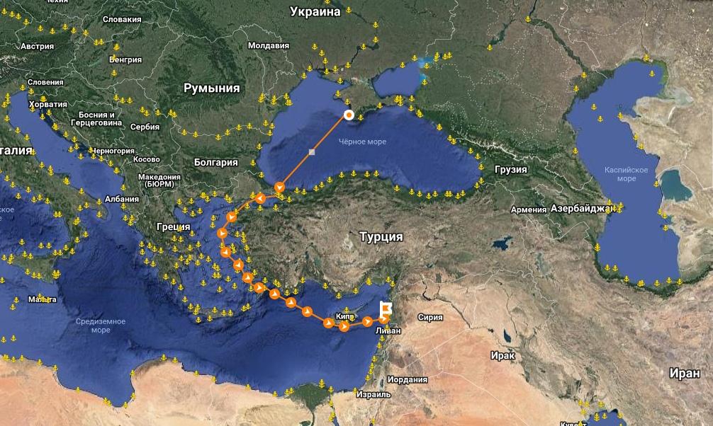 Почему крымское зерно уплывает в Сирию