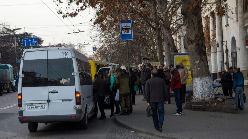 Транспортные хлопоты маршрутов Севастополя