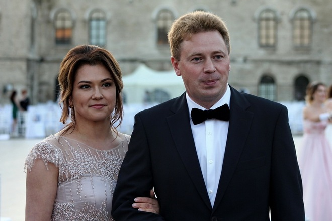 Овсянников с женой