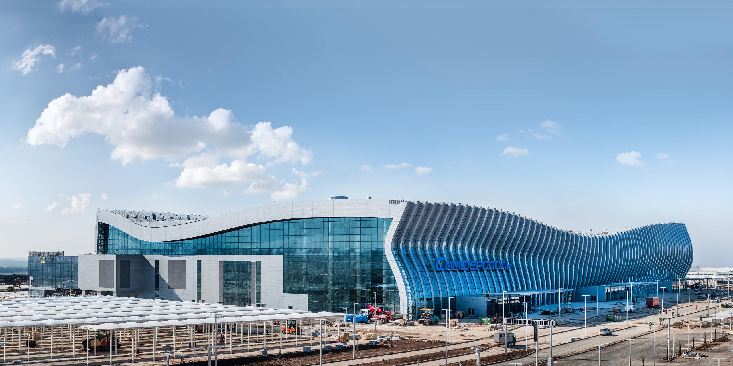 Аэропорт имени Айвазовского Симферополь