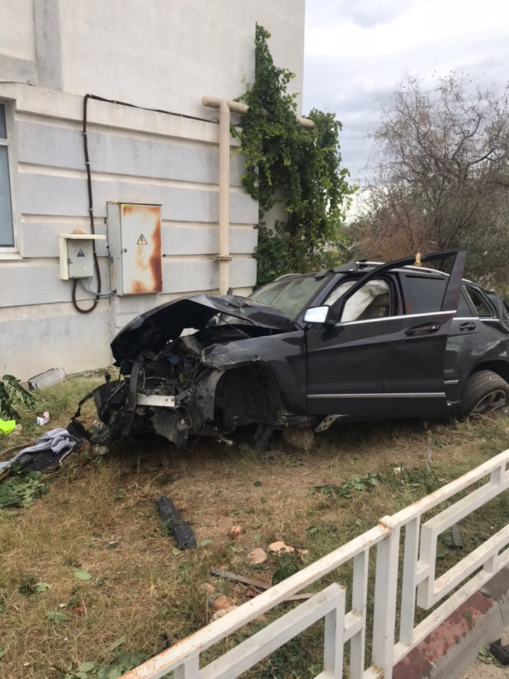 22 сентября в 5:30 утра произошло ДТП у бухты Омега, Севастополь