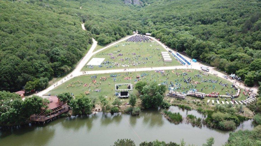 Большой слет туристов на Тороповой даче 3-4 октября