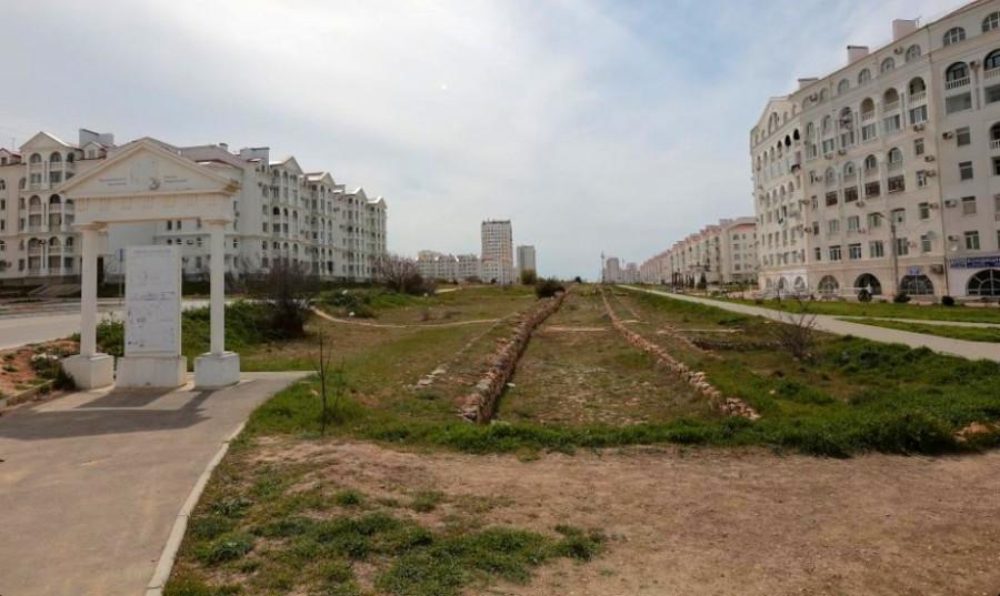 Античную дорогу Херсонеса встроят в инфраструктуру Севастополя