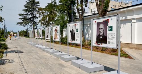 Фотовыставка «Герои России, какими их не видел никто» открыта в Севастополе до 15 сентября