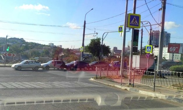 Групповые аварии грозят стать трендом для Севастополя
