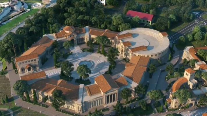 Как будет выглядеть грандиозный историко-археологический парк в Херсонесе