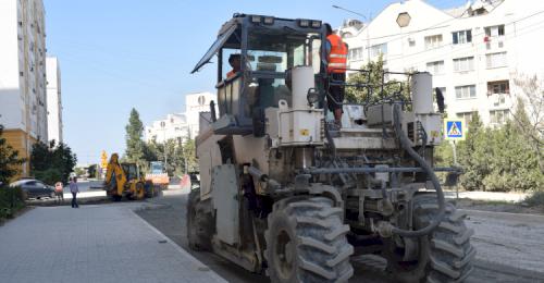 Капитальный ремонт улицы Колобова находится на завершающей стадии