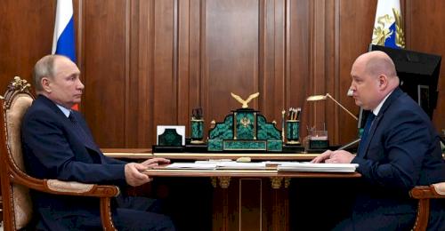 Михаил Развожаев доложил Владимиру Путину об итогах работы за два года
