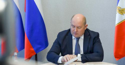 Михаил Развожаев выступил с докладом на заседании президиума Госсовета