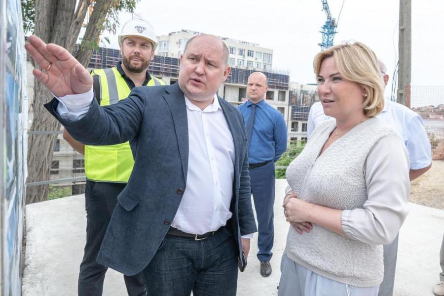 Министру культуры показали будущие севастопольские кластеры на Хрустальном и у Херсонеса