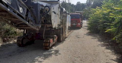 На улице Народных Ополченцев начался ремонт дорожного покрытия