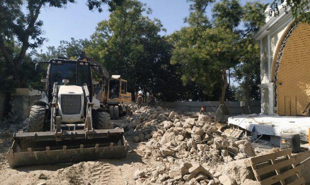 Ошибка с бетонным амфитеатром «Ракушки» в Севастополе обойдётся в 40 млн