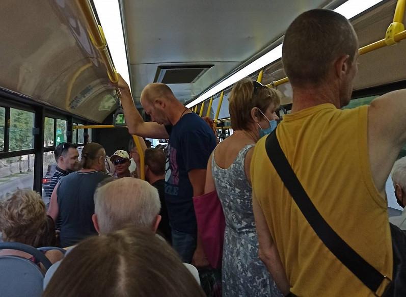 Пассажиропоток в транспорте Севастополя вырос на 20%