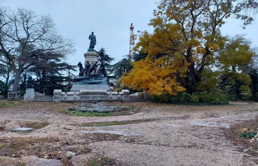 Реконструкция Исторического бульвара Севастополя возобновится в следующем году