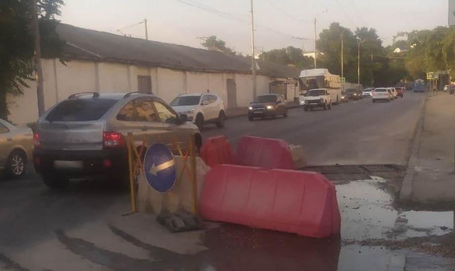 Ремонт улицы Героев Севастополя попал в зависимость от Камышового шоссе