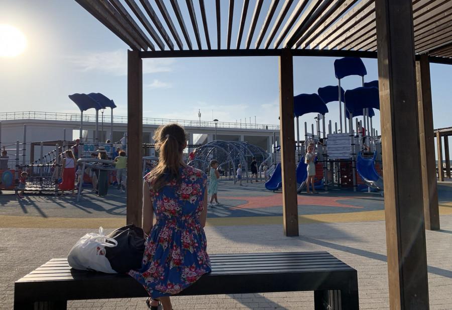 Севастопольцам открыли продолжение набережной в парке Победы