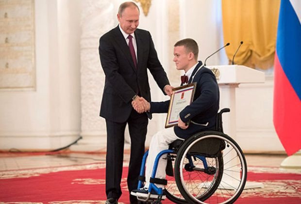 Севастополец Андрей Граничка завоевал серебро паралимпиады в Токио