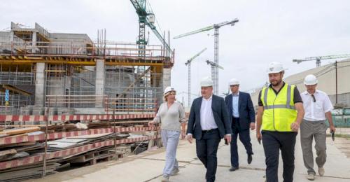 Строительство культурно-образовательного комплекса в Севастополе идет с опережением сроков
