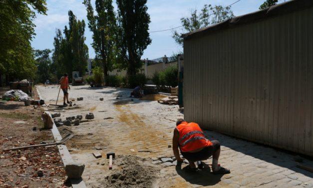 В центре Севастополя сузят дорогу