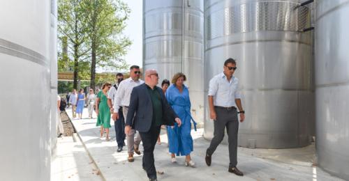 В Севастополе открылся высокотехнологичный комплекс первичного виноделия