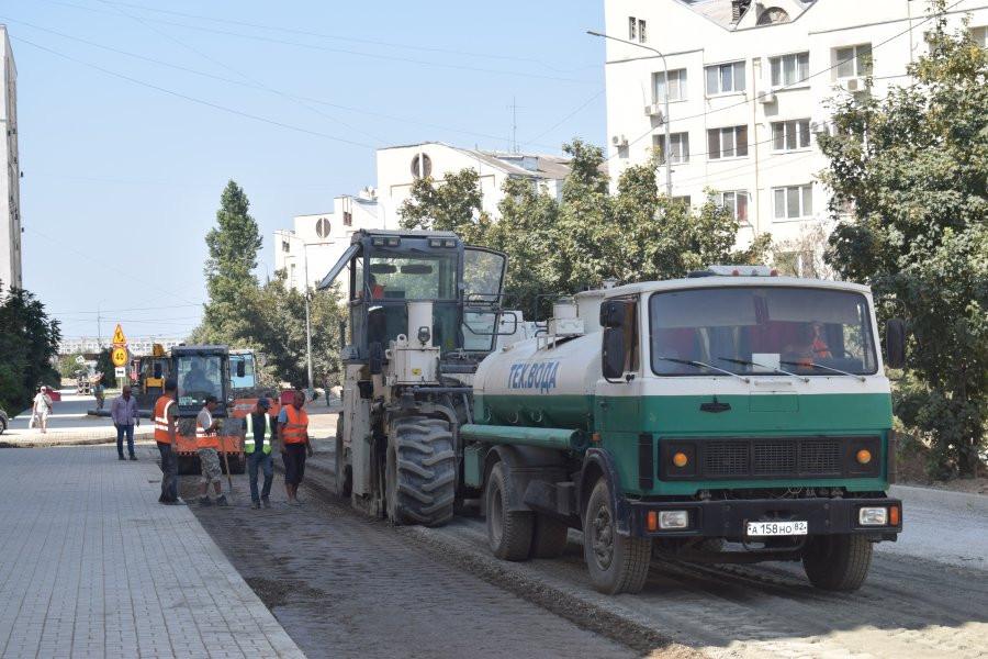 В Севастополе завершается капитальный ремонт улицы Колобова