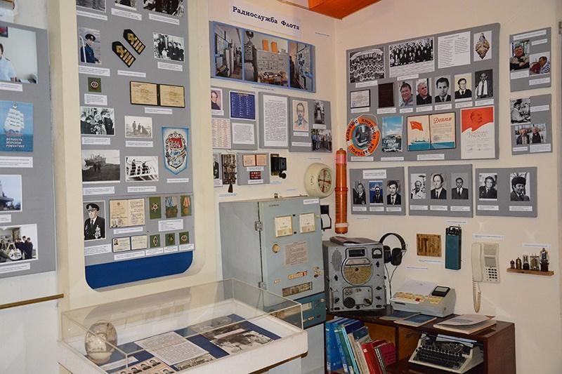 Выставка «Радиослужба рыбацкого флота»