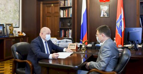 Заместитель председателя Правительства Александр Новак и губернатор Михаил Развожаев обсудили вопросы газификации