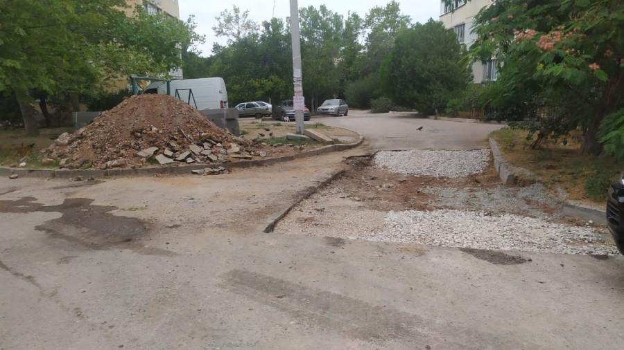 Жители Севастополя предотвратили растрату денег на ремонт своего двора