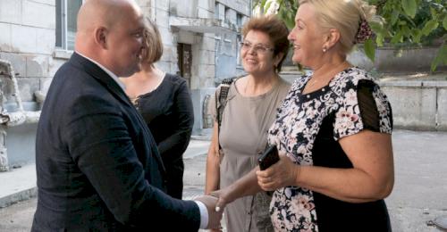 Губернатор Михаил Развожаев посетил Инкерман