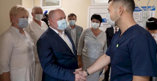 Губернатор посетил Орлиновский муниципальный округ