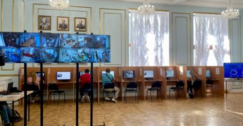 Избирательные участки в Севастополе работают в штатном режиме