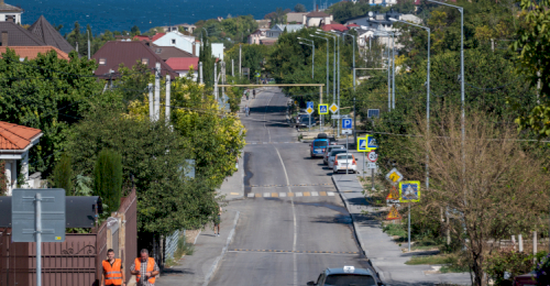 Капитальный ремонт дороги на улице Галины Петровой завершен раньше срока
