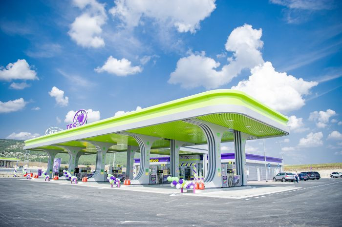 Первый автозаправочный комплекс TES на трассе Таврида официально введен в эксплуатацию