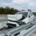 Семь человек пострадало в ДТП на трассе Таврида в Севастополе