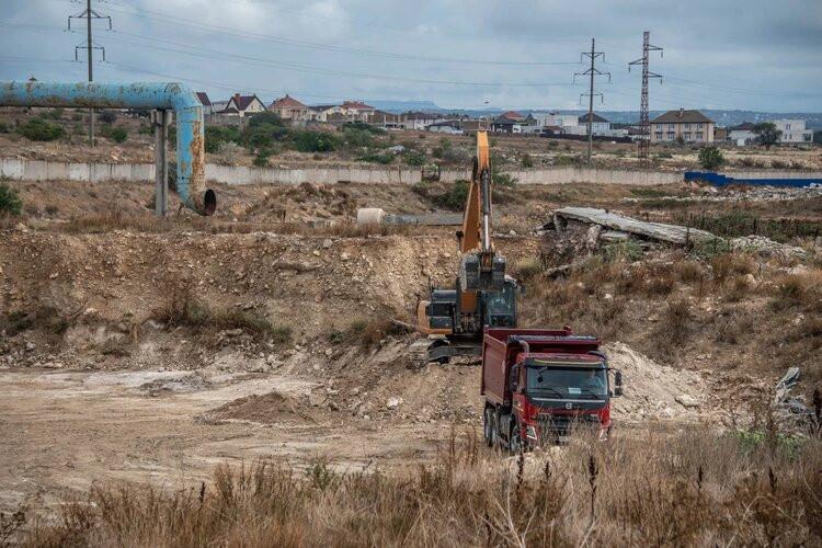 В Севастополе очистят земельный участок у КОС «Южные»