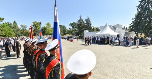 В Севастополе открыли кадетский корпус Следственного комитета РФ им. В. И. Истомина