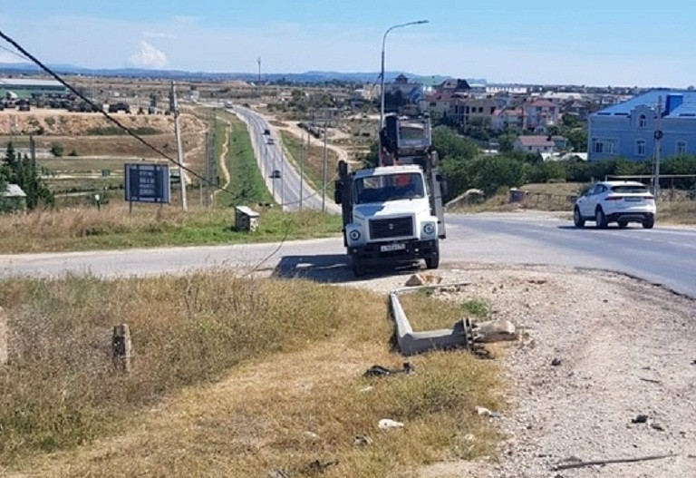 В Севастополе разыскивают водителя, оставившего трассу без света