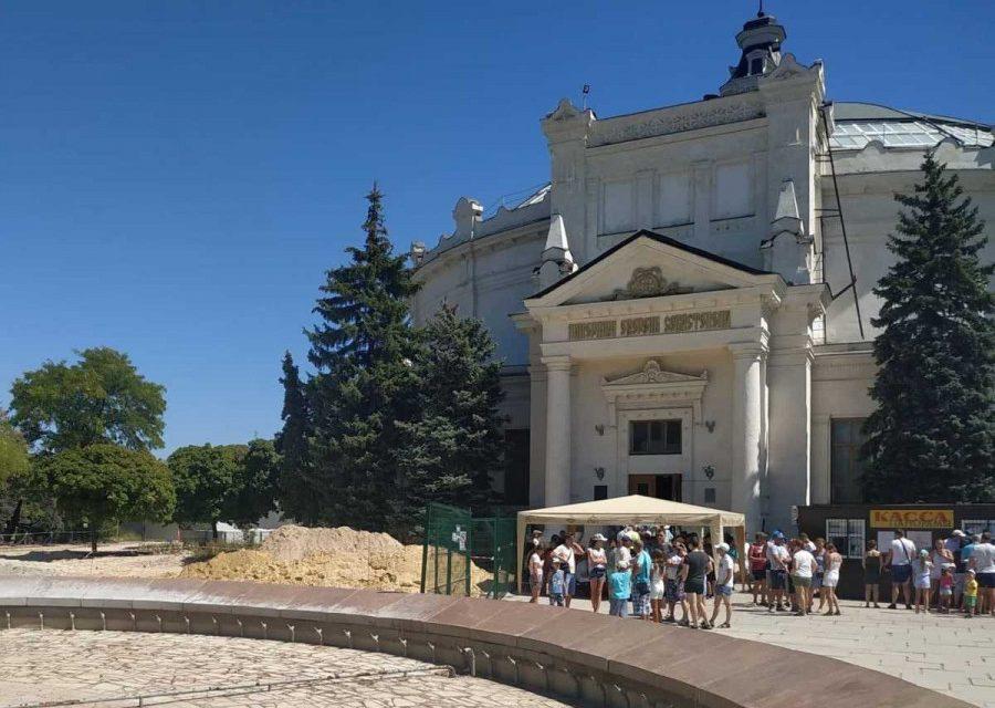 Завершить реконструкцию Исторического бульвара в Севастополе должны за полгода